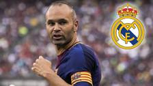 Iniesta explicó por qué de niño era de Real Madrid y no de Barcelona