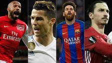 Cristiano Ronaldo y los goleadores históricos de la Champions League