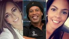 Ronaldinho desmintió rumores de matrimonio con dos mujeres