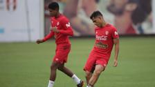 Sin Pedro Gallese, la Selección Peruana continuó con sus entrenamientos en Videna
