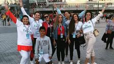 Motivación especial: la familia de Cristiano Ronaldo fue al estadio a apoyarlo