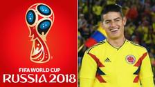 El sueño de James Rodríguez con miras al Mundial Rusia 2018