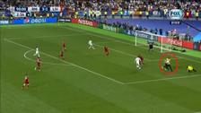 Fanático ingresó al campo e impidió el gol de Cristiano Ronaldo