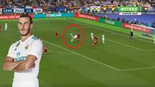 Golazo de chalaca de Gareth Bale ante Liverpool en final de la Champions