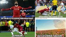 Salah es protagonista de los memes tras su lesión en final de la Champions