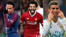 Conoce quiénes fueron los goleadores de la Champions League 2017-18