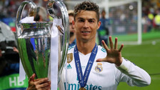 El nuevo look de Cristiano Ronaldo tras ganar la Champions League