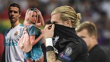 ¿Se desconcentró? Novia de Karius salió con Cristiano Ronaldo