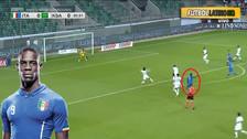 Regresó el 'Nene': Mario Balotelli anotó un golazo con la Selección de Italia