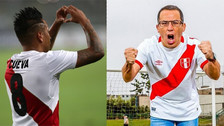 Daniel Peredo fue homenajeado en el entretiempo del Perú vs Escocia