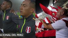 ¡Se lucieron! Hinchada peruana recibió a la Bicolor con un mosaico