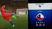 Chile está presente en el Mundial Rusia 2018 gracias al FIFA 18