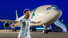 Así es el lujoso avión de la Selección de Argentina rumbo al Mundial