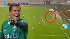 Butrón tuvo una espectacular tapada que evitó gol de Sporting Cristal
