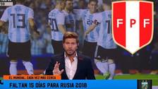 'Pollo' Vignolo dice que Argentina no es superior a la Selección Peruana