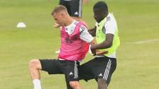 Selección de Alemania: Rüdiger y Kimmich casi se van a las manos