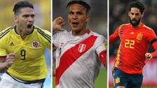 Inolvidable: las estrellas que jugarán su primer Mundial en Rusia 2018