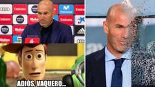 Zinedine Zidane porotagoniza los memes tras renunciar al Real Madrid