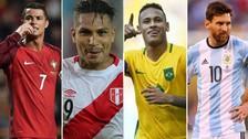 Los 32 capitanes de las selecciones que estarán en el Mundial Rusia 2018