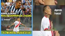 Guerrero protagonizó los memes tras confirmarse que jugará el Mundial