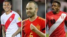 El once ideal de los futbolistas que jugarán su último Mundial en Rusia