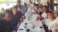 Pura diversión: los jugadores peruanos disfrutaron de su día libre en Zúrich