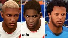 Así se ven las figuras de la Selección Peruana en FIFA 18