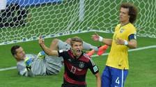 Brasil entregó a Alemania una portería del catastrófico 7 a 1