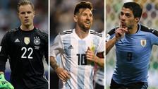 Los futbolistas que más jugaron previo al Mundial Rusia 2018