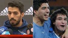 Luis Suárez al borde las lágrimas tras hablar de Lodeiro, que no irá al Mundial