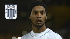 Malas noticias: se canceló el amistoso de Ronaldinho con Alianza Lima