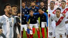 El valor de todas las selecciones que jugarán el Mundial Rusia 2018