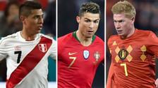 A 7 días del Mundial: los mejores '7' de cada selección en Rusia 2018