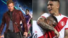 Chris Pratt se declaró hincha de la Selección Peruana y de Paolo Guerrero