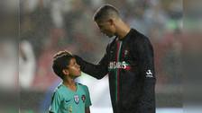 La alucinante reacción de Cristiano Ronaldo al ver el golazo que marcó su hijo