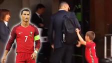 Cristiano Ronaldo tuvo un gran gesto con niño que burló la seguridad