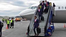 La Selección Peruana llegó a Moscú para iniciar el sueño mundialista