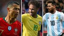 Los 15 jugadores más caros que estarán en el Mundial Rusia 2018