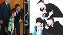El enorme gesto de Cristiano Ronaldo con un niño hinchas de Portugal