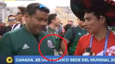Hincha mexicano probó pisco peruano y esta fue su reacción
