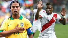 Ronaldinho envió alentador mensaje a Jefferson Farfán previo al Mundial
