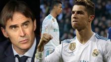 ¿Cristiano Ronaldo es el mejor futbolista del mundo? Esto respondió Lopetegui