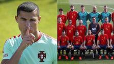 Cristiano Ronaldo envió contundente mensaje a la Selección de España