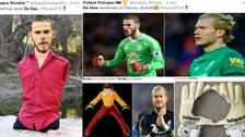De Gea es víctima de los memes tras su blooper ante Portugal