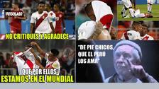Los memes de apoyo a la Selección Peruana tras la derrota ante Dinamarca