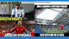Argentina y Messi son víctimas de los memes tras el empate ante Islandia