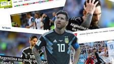 Así reaccionó la prensa mundial tras el empate de Argentina ante Islandia