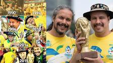 Continúa el legado: la conmovedora historia del hincha más fiel de Brasil