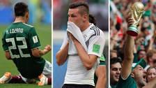 Así festejó la Selección de México el triunfo ante Alemania en Rusia 2018