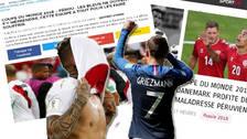 Esto dijo la prensa francesa sobre el rendimiento de Perú en el Mundial